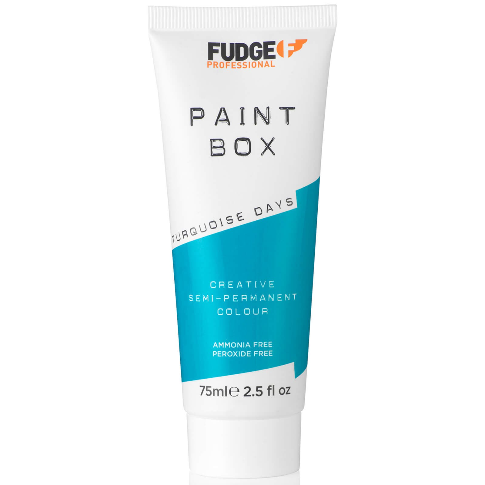 New Fudge Turquoise Days Paint Box Hair colour - Semi Permanent Hair Dye