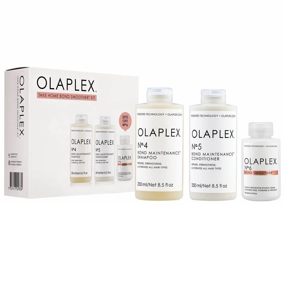 Olaplex Take Home Bond Smoother Kit: No. 4 (250ml), No. 5 (250ml) & No. 6 (100ml)