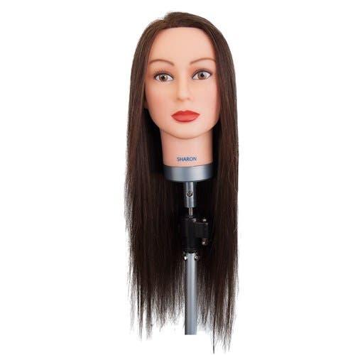 "Dateline Professional Sharon Mannequin 26"" Long Brown"