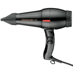TwinTurbo Hair Dryer 2800 & Nozzles Made in Italy