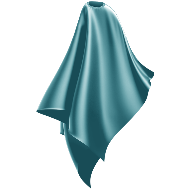 Wahl Professional Haircutting cape 3012 Pacific Blue