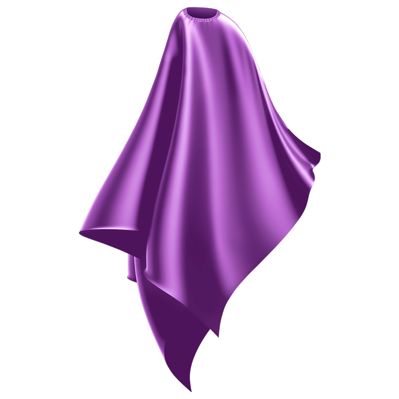 Wahl Professional Haircutting cape 3012 Purple