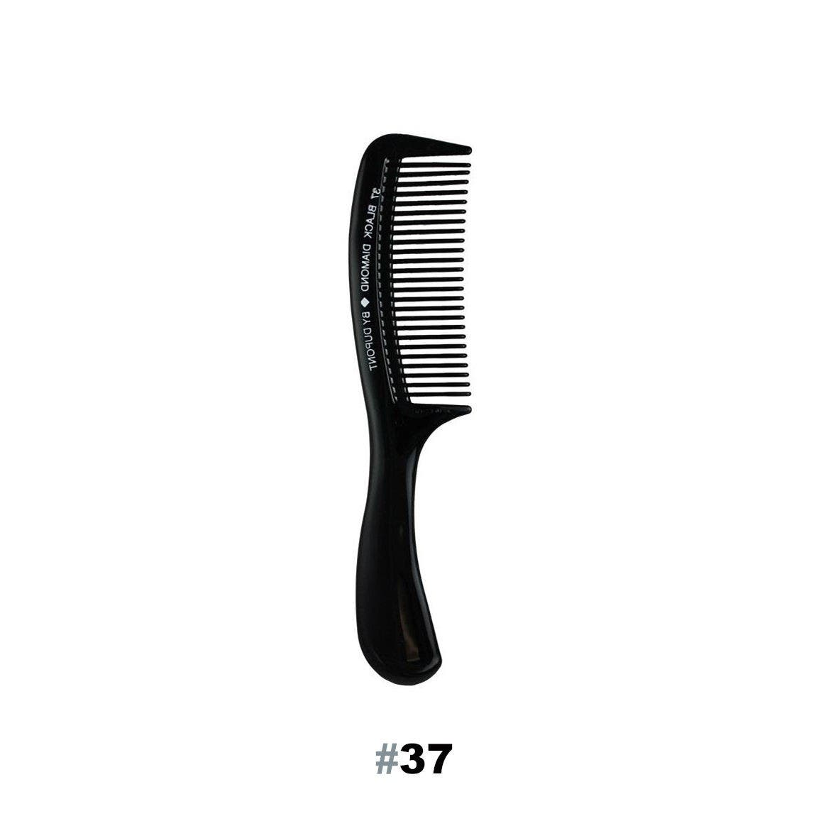 "BLACK DIAMOND #37 Wide Tooth Basin 9"" Hair Comb - Made in USA"