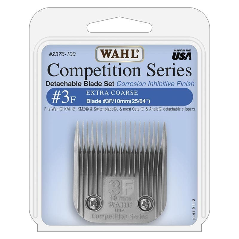 Wahl #3F Detachable KM2 Blade Set Extra Coarse 10mm Competition