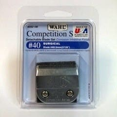 Wahl #40 Detachable KM2 Blade Set Surgical 0.6mm Competition