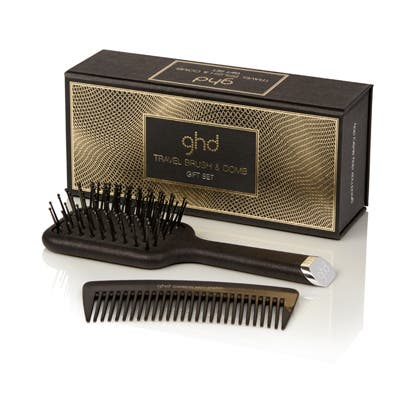 ghd Travel Brush & Comb Gift Set | Purse Pack | Stocking Filler