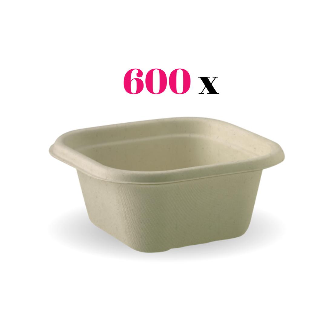 Sugarcane Disposable Colour Bowl 480mL * 600 Pieces per pack