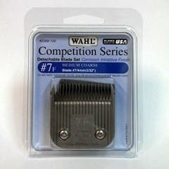 Wahl #7F Detachable KM2 Blade Set Medium Coarse 4mm Competition