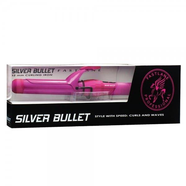 Silver Bullet Pink Fastlane Curling Iron 32 mm
