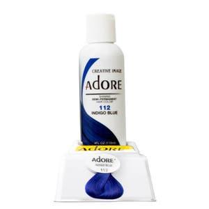 Adore Semi Permanent Hair Color - Indigo Blue - 112