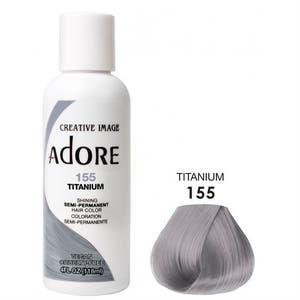 Adore Semi Permanent Hair Color - Titanium - 155