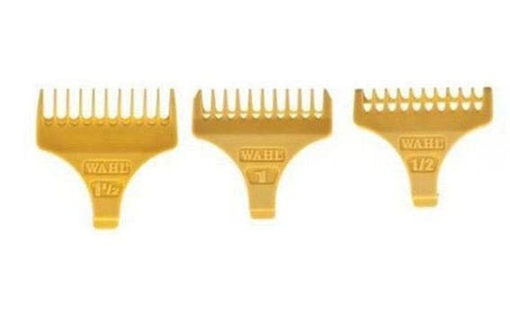 Wahl Attachment Combs For Detailer and Cordless Detailer Trimmer (1/2, 1, 1.1/2)