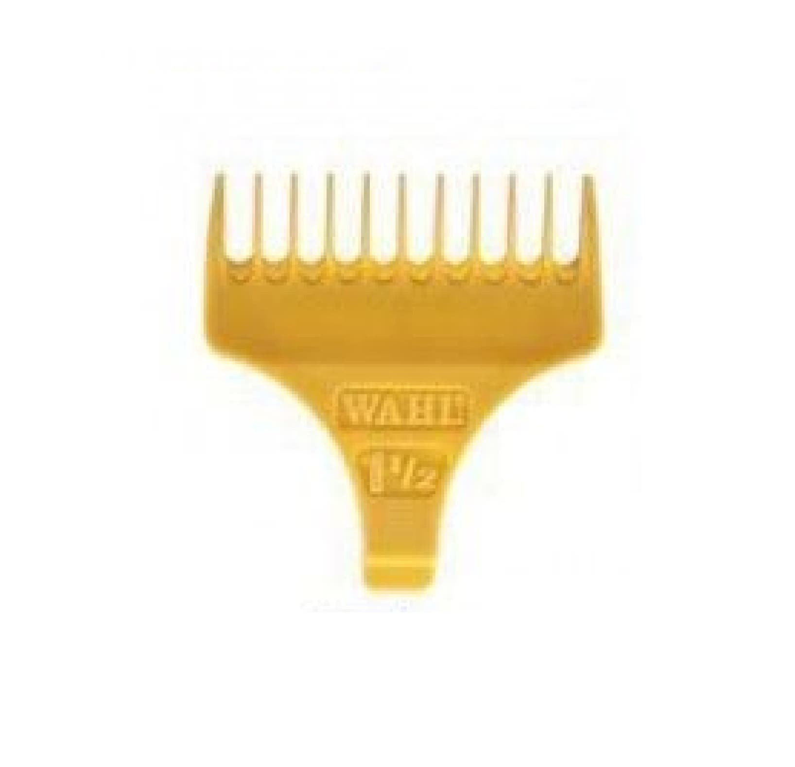 Wahl #1 1/2 Attachment Comb - Yellow for Classic Detailer Trimmer