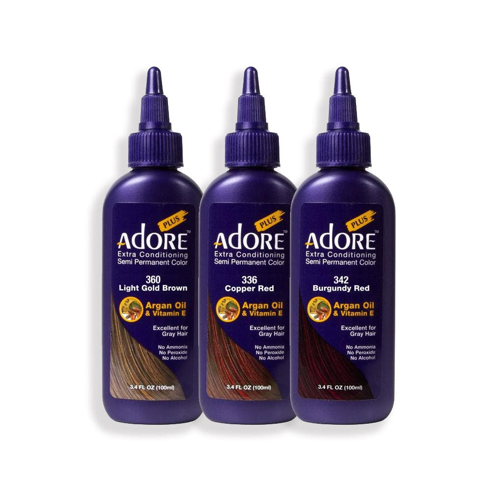 Adore Plus Semi Permanent Hair Colour Extra Conditioning