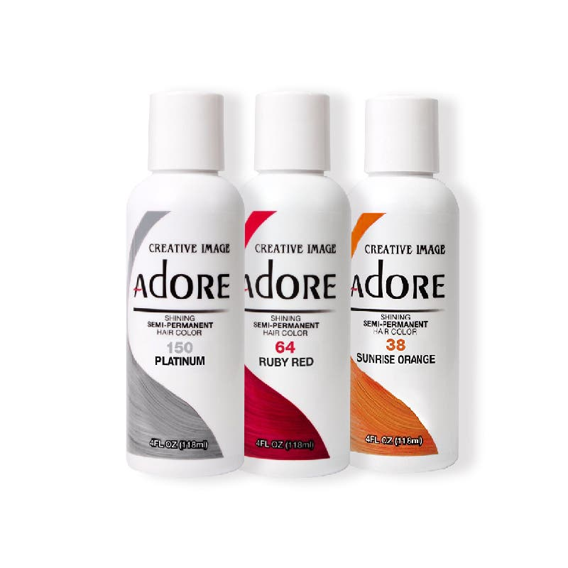 Adore Semi Permanent Hair Color 118ml *Choose color