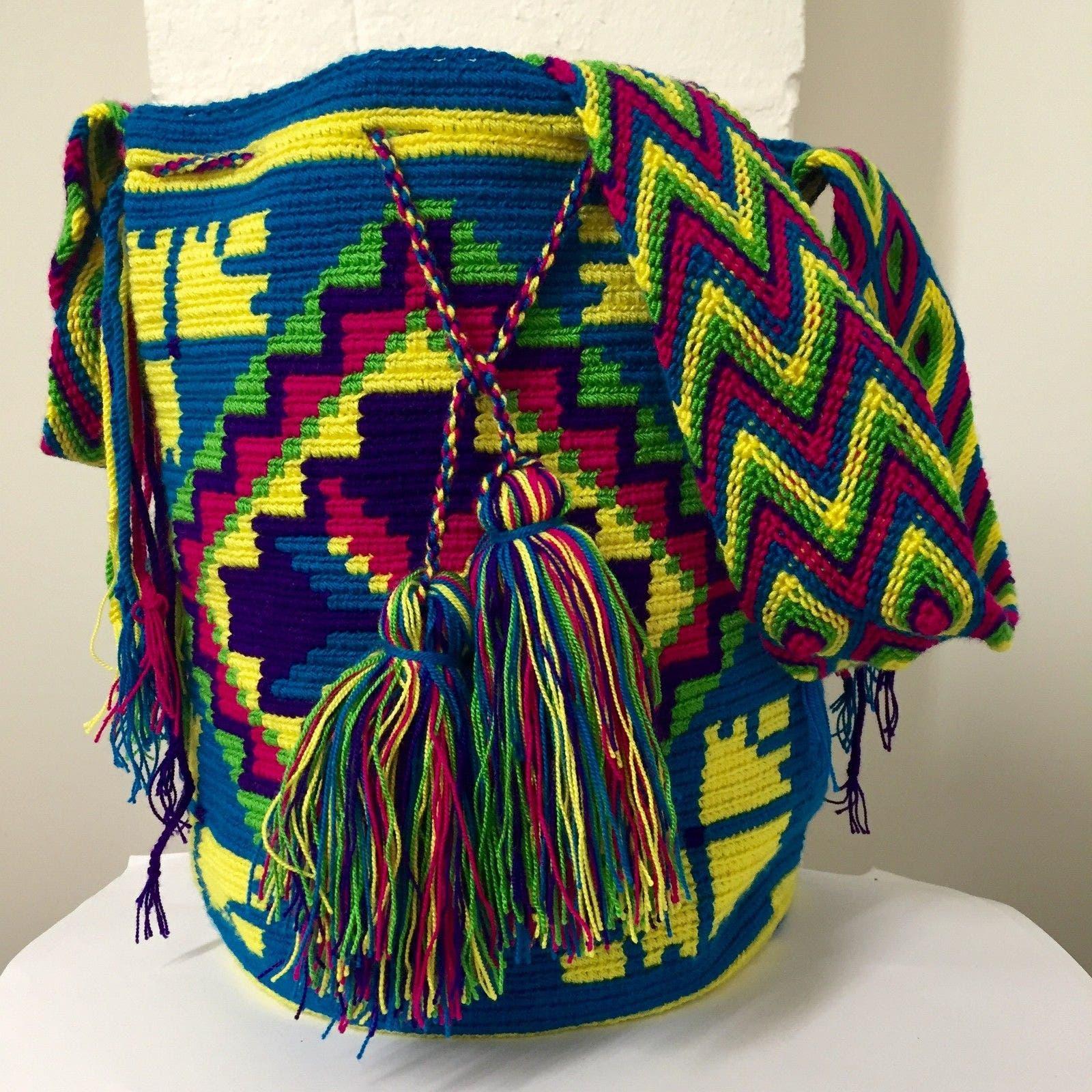 Akarachi Hand Made Wayuu Bag -  Wayuu Tribe Project