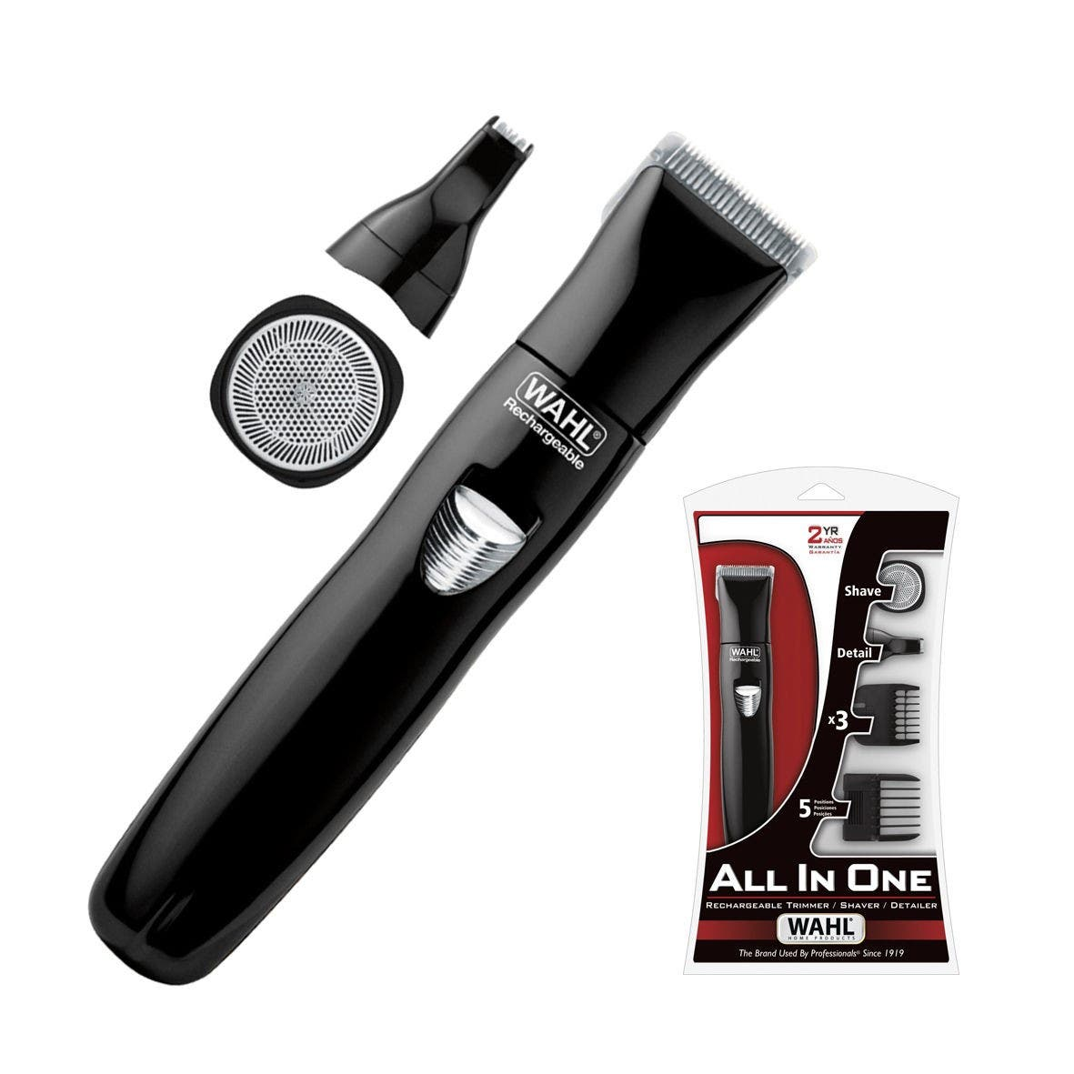 Wahl All In One Trimmer Shaver Detailer Rechargeable Cordless