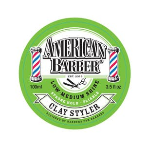 American Barber Clay Styler Strong Hold 100ml