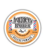 American Barber Deluxe Pomade Strong Hold 100ml