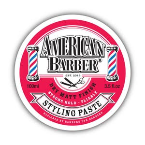 American Barber Styling Paste Strong Hold 100ml