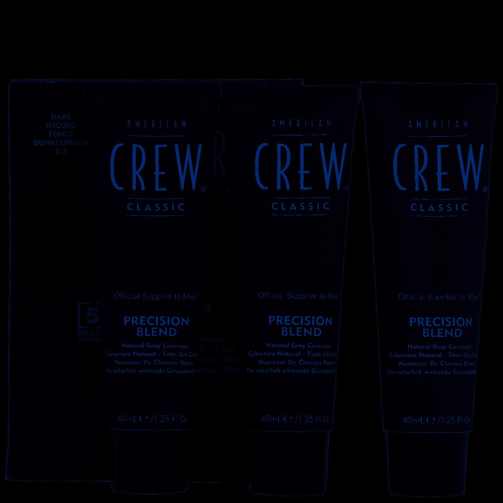American Crew Precision Blend Hair Colour 2-3 Dark