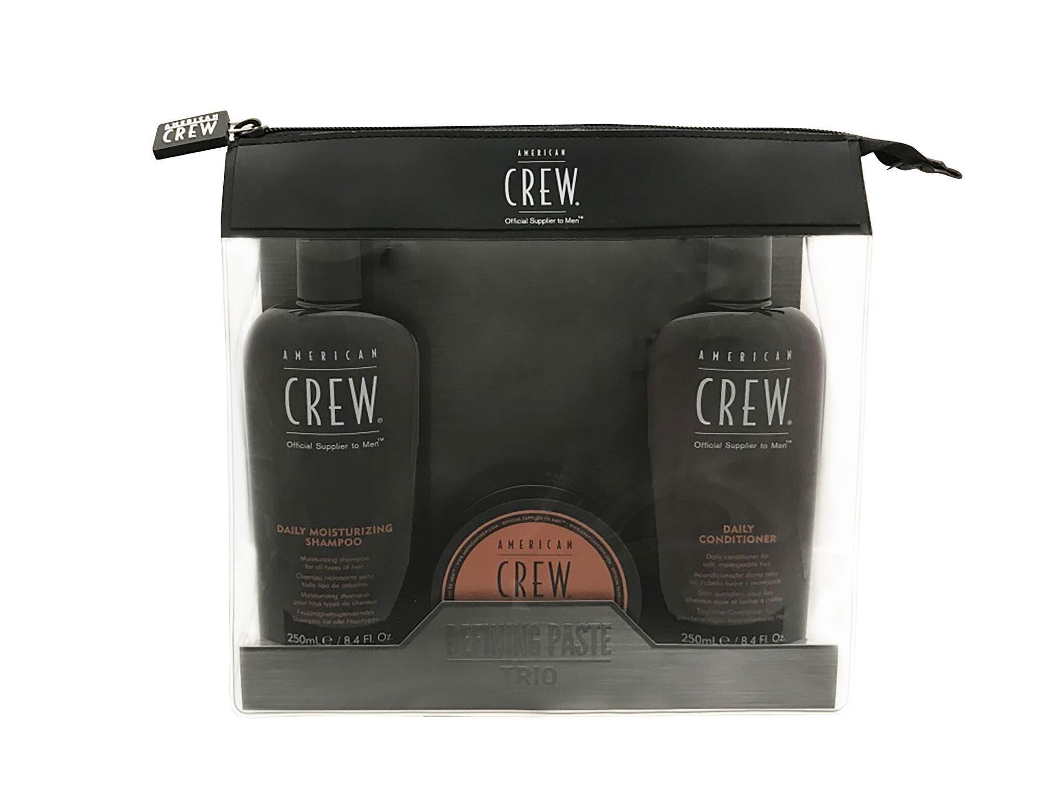 American Crew Define Paste Trio Pack - Shampoo