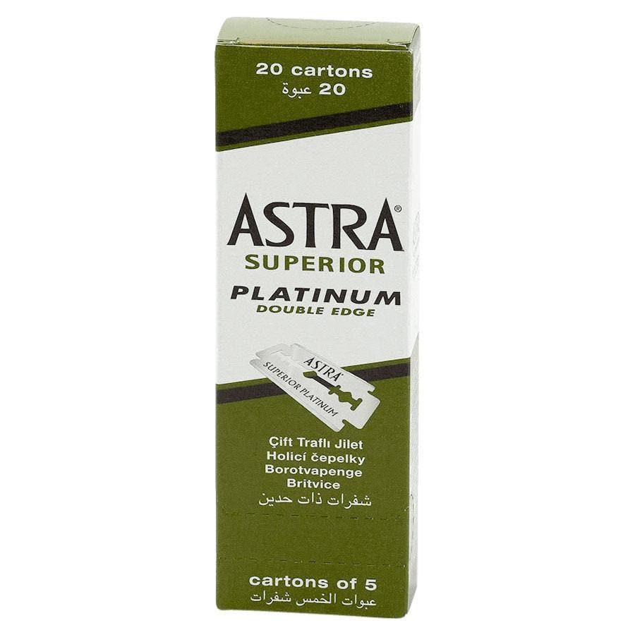 Astra Superior Platinum Double Edge Blades (100 Blades)