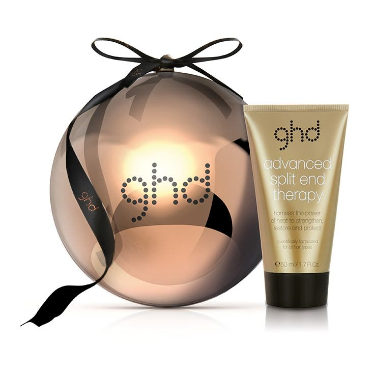 ghd Advanced Split End Therapy 50mL - Copper Luxe  Collection Limited Edition Bauble