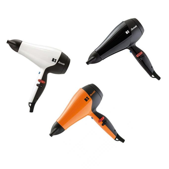 Bi 5000 Hair Dryer Professional with 3 nozzles 2200w Made in Italy