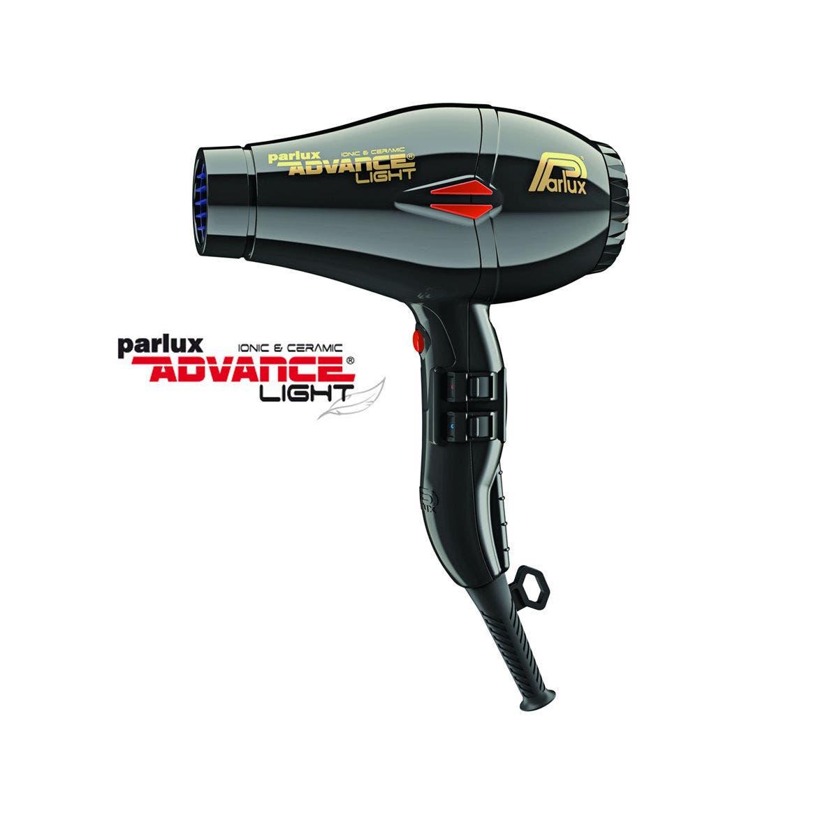 Parlux K-ADVANCE Light Hair Dryer Ionic & Ceramic - Black