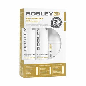 BOSLEY Professional Hair Strength Treatment DEFENSE Normal to fine / Colour-treated Hair (YELLOW)