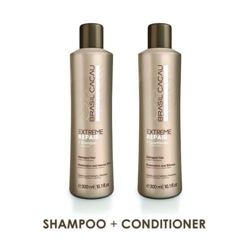 Brasil Cacau Extreme Repair Shampoo & Conditioner 300ml