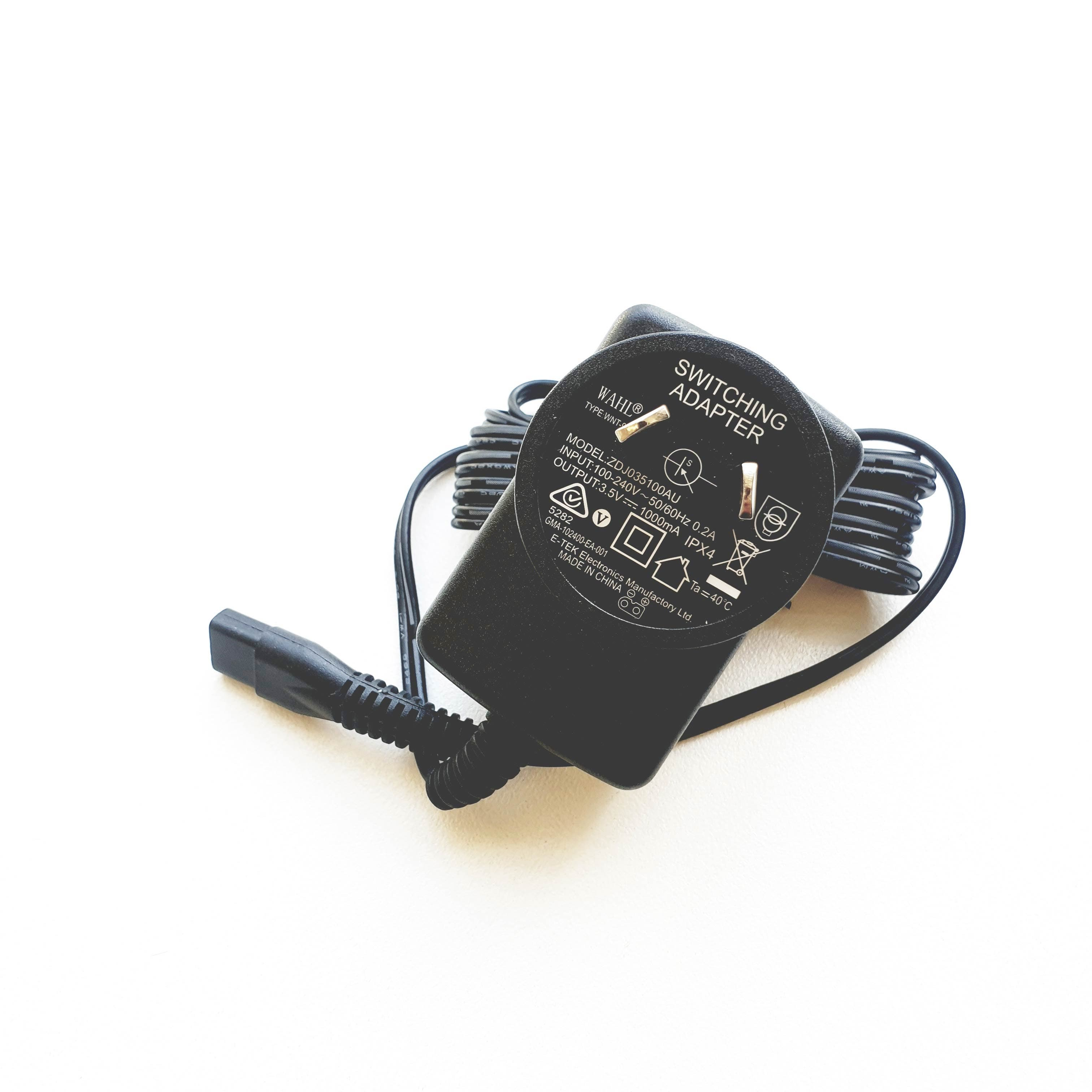 WAHL Replacement CHARGER (Model ZDJ035100AU) Female for Color Pro Cordless