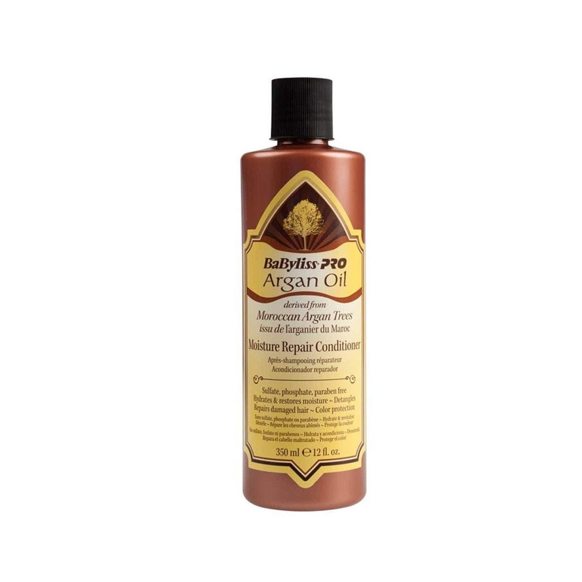 Babyliss Pro Argan Oil Hydrate Repair Nourish Moisture Repair Conditioner 350ml Only
