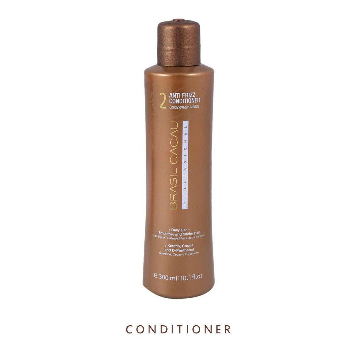 Brasil Cacau ANTI FRIZZ 300ml Conditioner For Damaged Hair
