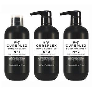 Cureplex Professional Salon Kit: 1 x Bond Creator 500ml + 2 x Bond Fortifier 500ml