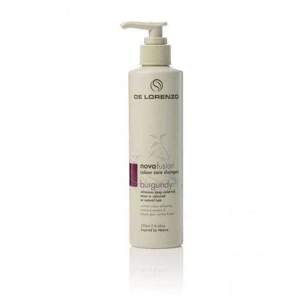 De Lorenzo Novafusion Colour care Shampoo Burgundy 250mL
