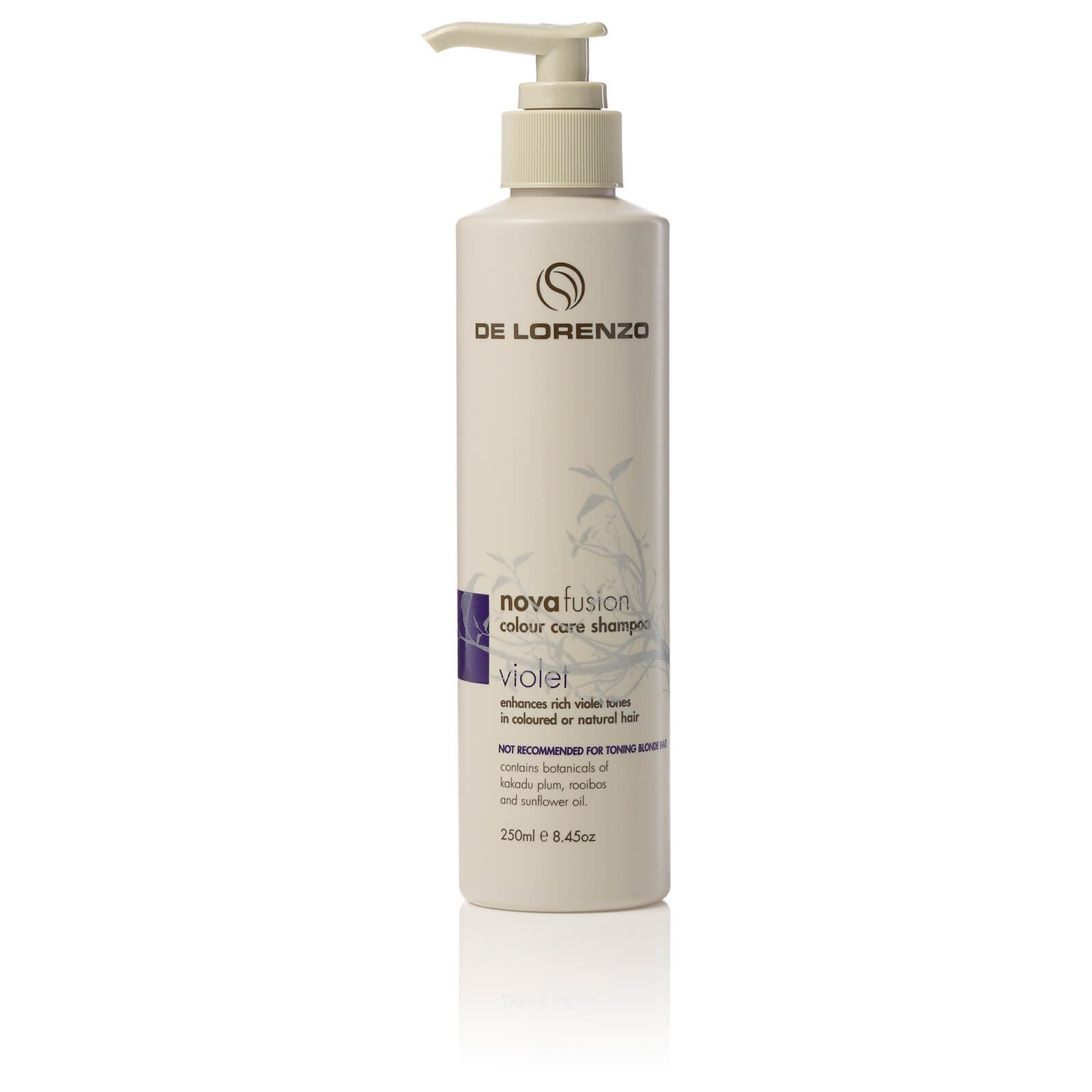 De Lorenzo Novafusion Colour care Shampoo Violet 250mL