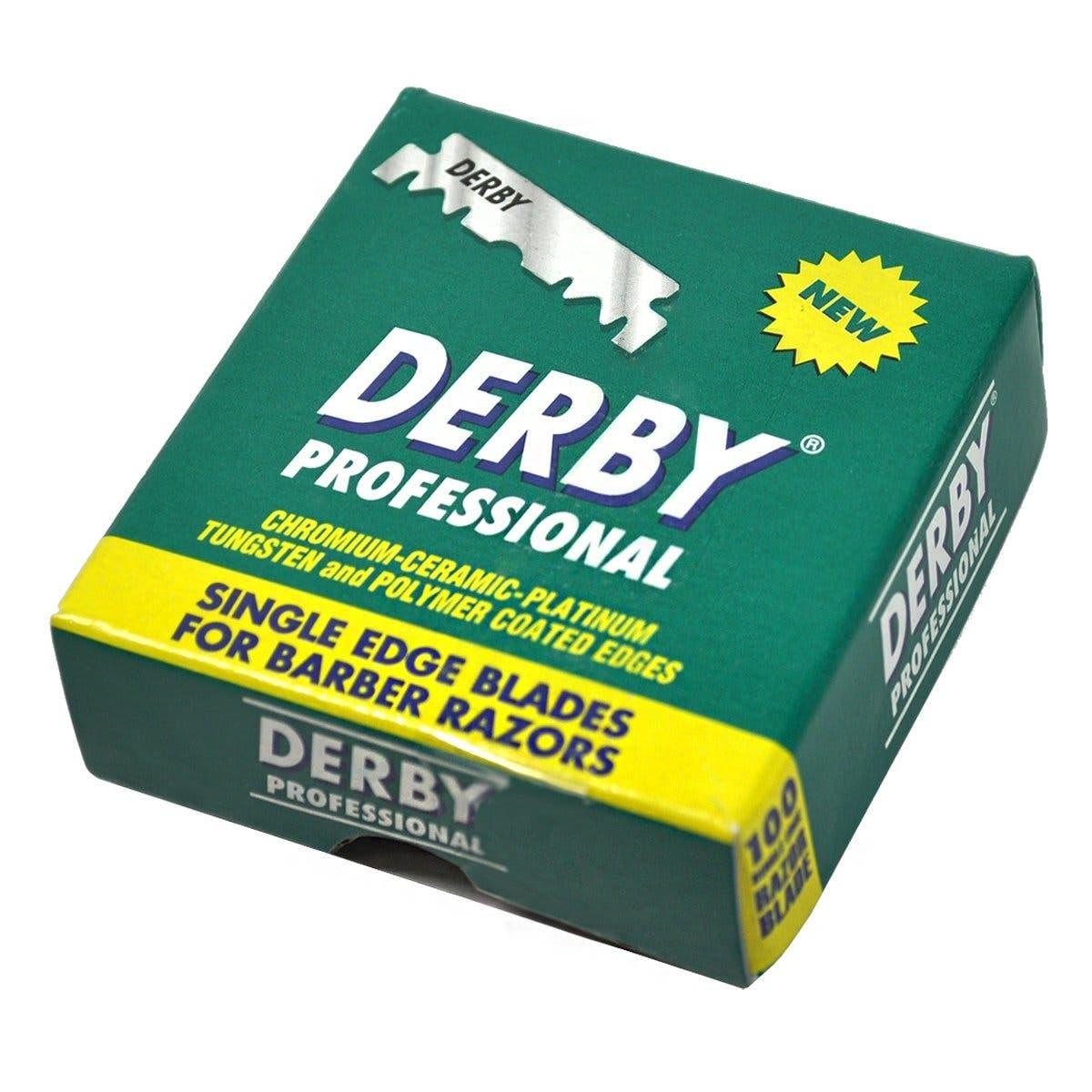 Derby Professional Single Edge Razor Blades (100pk)