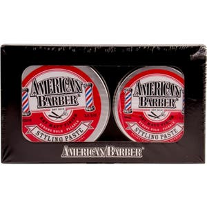 American Barber Styling Paste Duo 100ml tin PLUS BONUS 50ml tin LIMITED EDITION