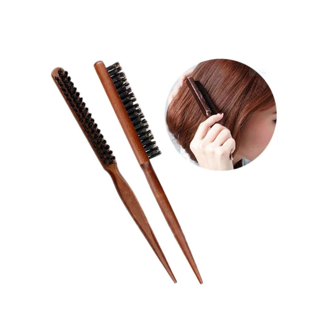 Sydney Salon Supplies Wooden Teasing Hair Brush