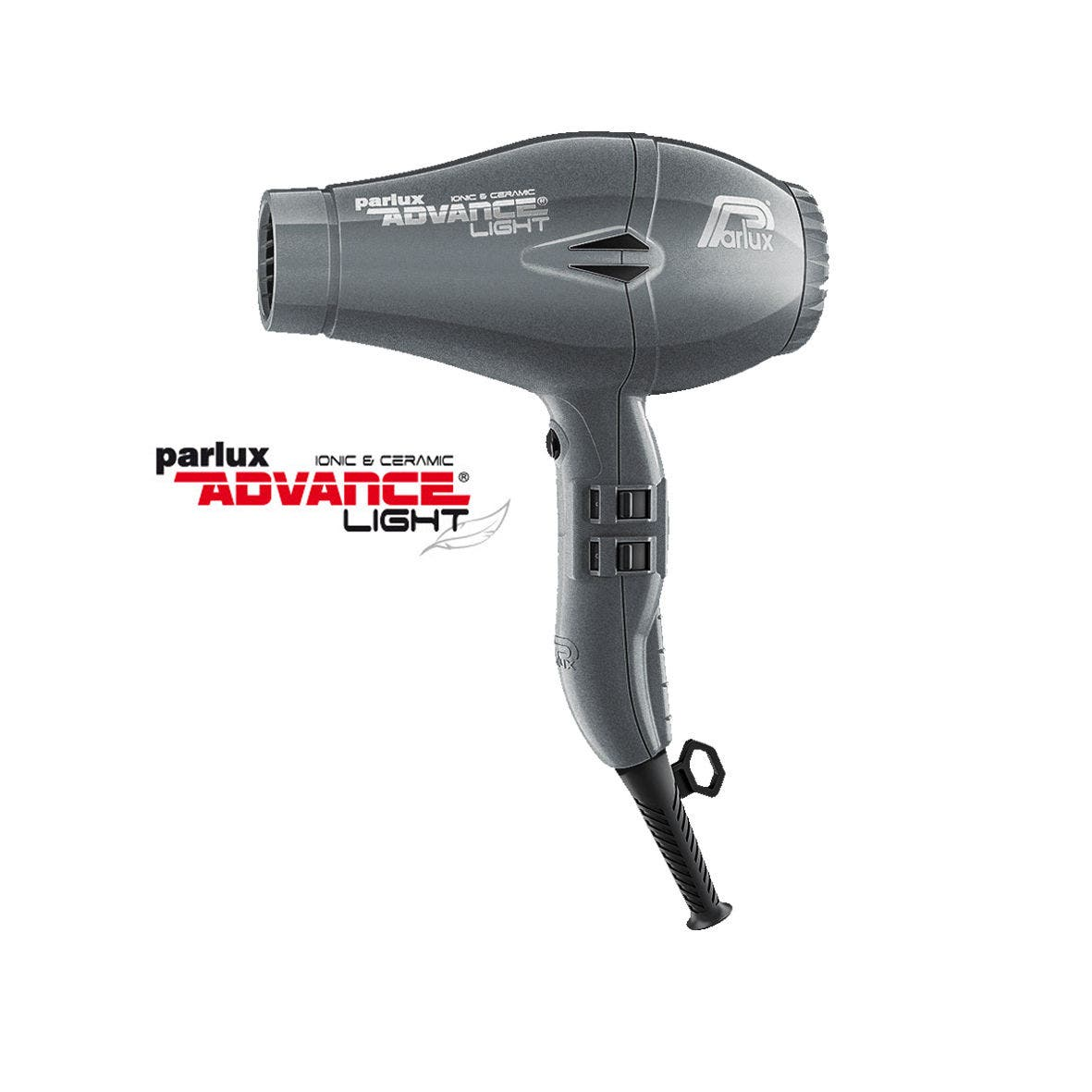 Parlux ADVANCE Light Hair Dryer Ionic & Ceramic - Graphite