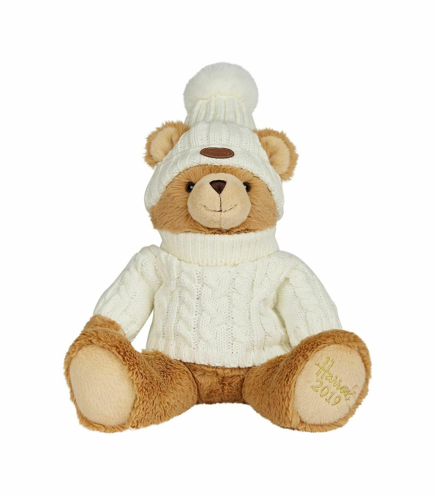 2019 HARRODS Annual Christmas Bear JOSHUA Bear 42cm