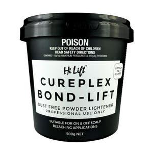 Hi Lift Bleach Cureplex Bond Dust Free Powder Lightener 500g, Hair Treatment