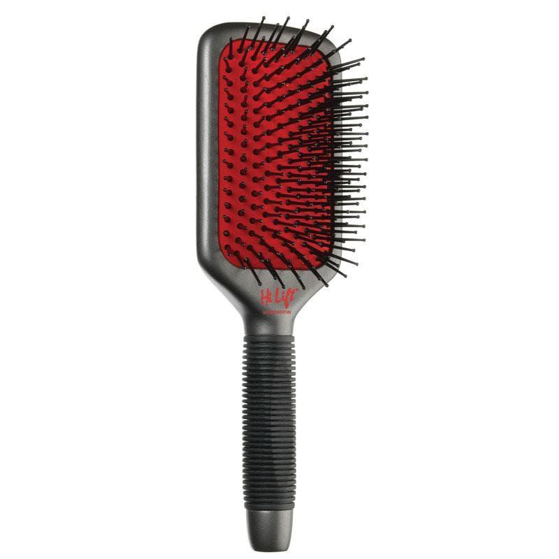 Hi Lift Super Grip Ionic Paddle Hair Brush 11 Rows-  HLB5022