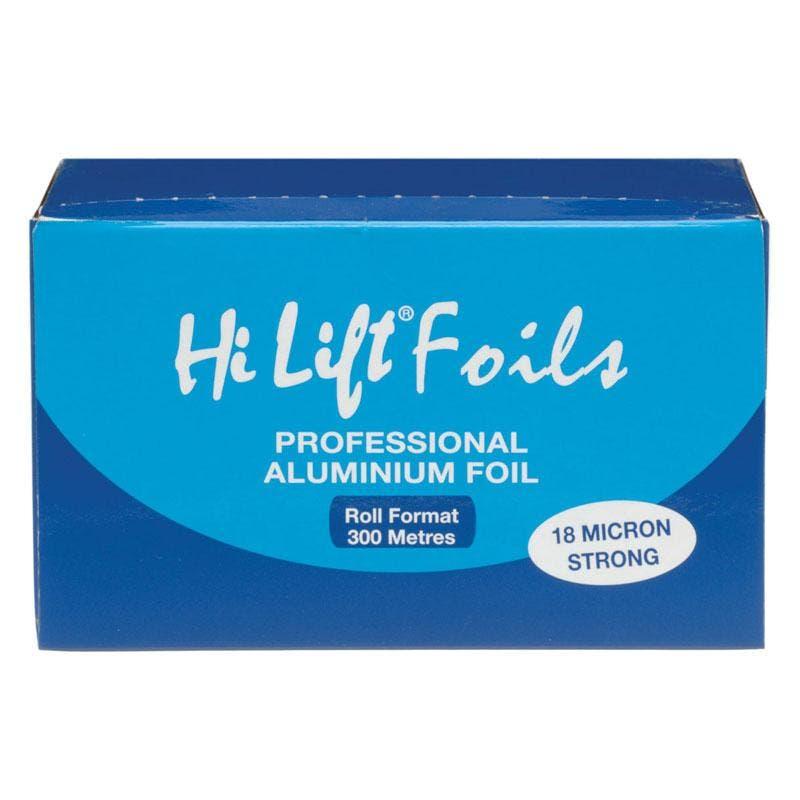 Hi Lift Foil 300 Metres Aluminium Foil Silver 18 Micron Hair Professional Colouring