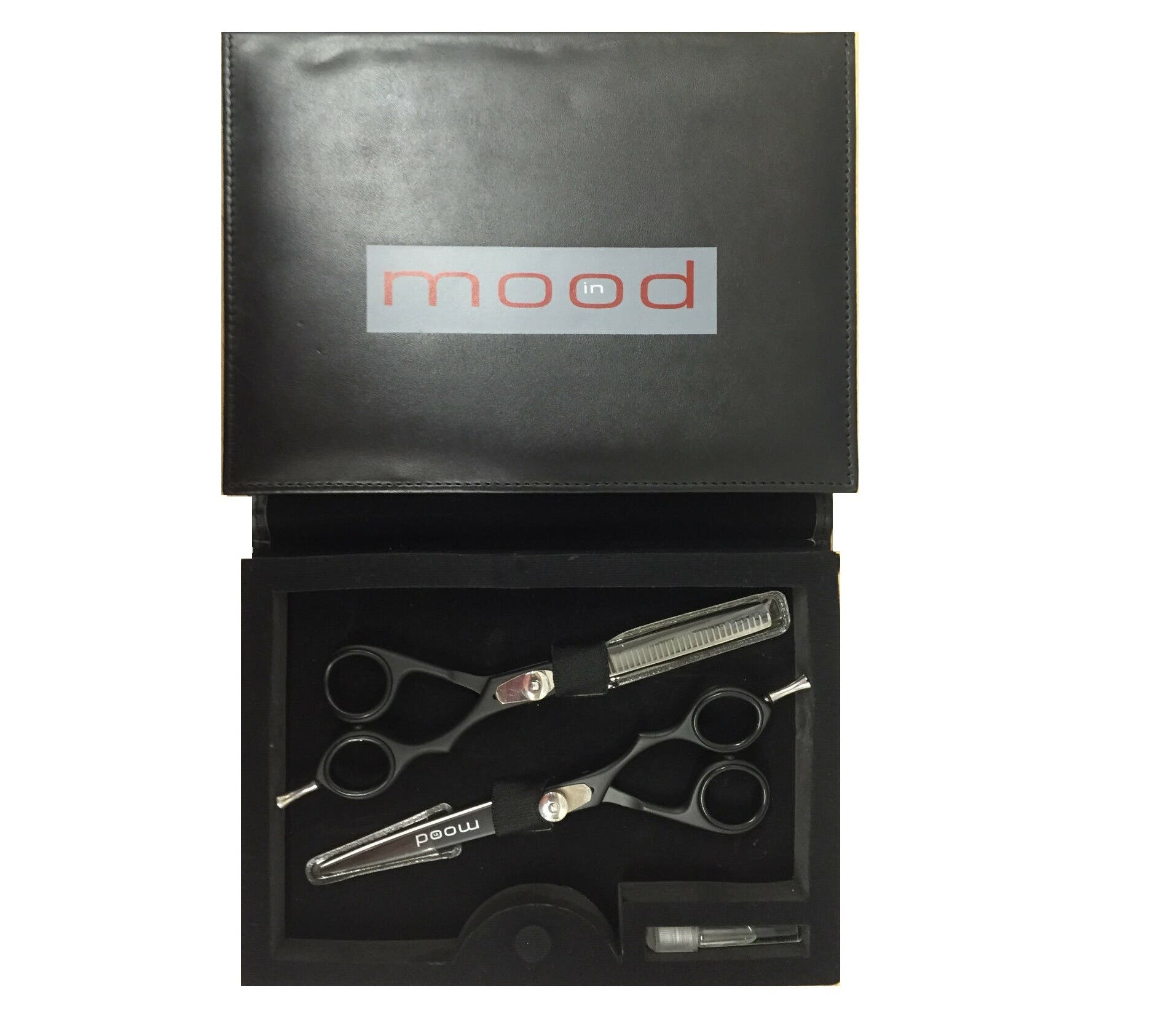InMood Black Scissor and Thinner Duo Set *Choose size