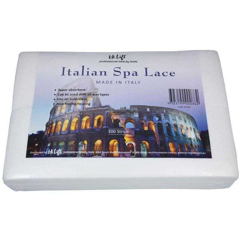Hi Lift Italian Spa Lace Epilating/Waxing Fabric Strips x 300 pieces