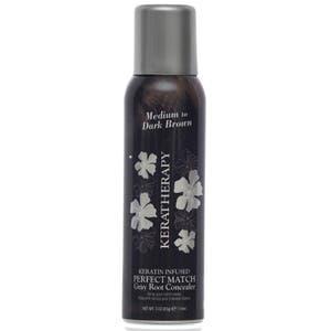 Keratherapy Keratin Infused Perfect Match Gray Hair Cover - Medium Dark Brown