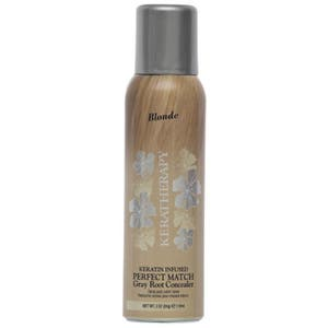 Keratherapy Keratin Infused Root Concealer Perfect Match Gray Hair Cover - Blonde